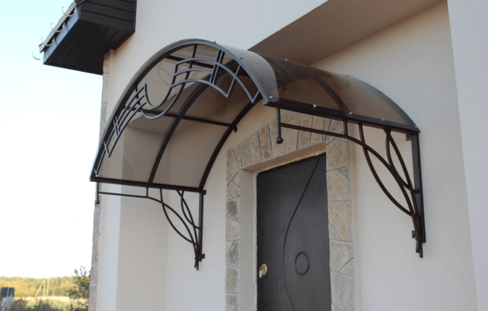 подборкой навесы для крыльца в картинках выбраны благодаря декоративности